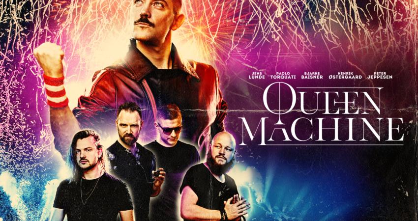 QUEEN MACHINE–LIVE gæster Vejen