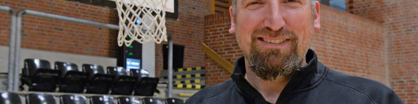 Ny sportschef i basketballklubben Vejen